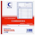 Elve Manifold Commandes 50 feuillets avec duplicata 21 x 21 cm
