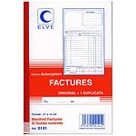 Elve Manifold Factures 50 feuillets avec duplicata 21 x 14 cm
