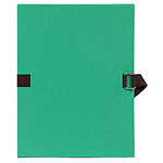 Exacompta Chemise à sangle papier toilé Vert clair