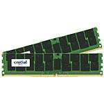 Crucial DDR4 64 Go (2 x 32 Go) 2133 MHz CL15 ECC Registered DR X4