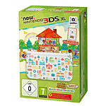 Nintendo New 3DS XL (blanche) + Animal Crossing : Happy Home Designer