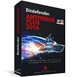 Bitdefender Antivirus Plus 2016 - 2 Ans 3 Postes