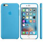 Apple Coque en silicone Bleu Apple iPhone 6s Plus