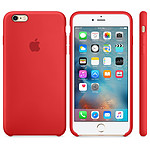 Apple Coque en silicone Rouge Apple iPhone 6s