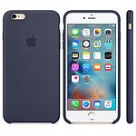 Apple Coque en silicone Bleu nuit Apple iPhone 6s