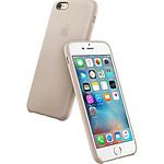 Apple Coque en cuir Gris rose iPhone 6s