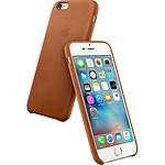 Apple Coque en cuir Havane Apple iPhone 6s Plus