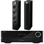 Harman Kardon HK3700 + Focal Chorus 727 V2 Black Ash