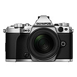 Olympus E-M5 MK II Argent + M.ZUIKO DIGITAL ED 12-50mm
