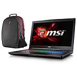 MSI GE72 6QD-006FR Apache Pro + Sac à dos MSI Gaming OFFERT !