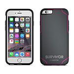 Griffin Survivor Journey Gris/Rose iPhone 6/6s