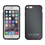 Griffin Survivor Journey Gris/Rose iPhone 6 Plus/6s Plus