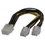 Doubleur d'alimentation PCI Express 6 pins