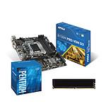 Kit Upgrade PC Pentium G4400 MSI B150M PRO-VDH D3 4 Go