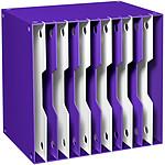 CEP Gloss Module de classement évolutifs 12 compartiments Violet