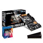 Kit Upgrade PC Core i7 ASRock H170 PRO4/D3 8 Go