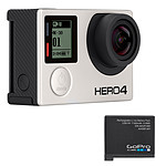 GoPro HERO 4 : Black Edition + Battery