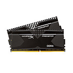 HyperX Predator Noir 32 Go (2x 16 Go) DDR4 3000 MHz CL16