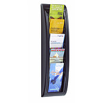 Paperflow Quick Fit wall display 5 cajas Negro