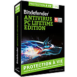 Bitdefender Antivirus PC Lifetime Edition - Licence à vie 1 poste