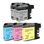 Multipack cartouches compatibles Brother LC223 (Noir, cyan, magenta et jaune)