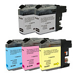 Multipack cartouches compatibles Brother LC227XL/LC225XL (Noir, cyan, magenta et jaune)