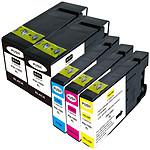 Mulitpack cartouches compatibles Canon PGI-1500XL (Cyan, magenta, jaune et noir)