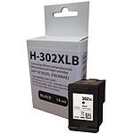 Cartouche compatible HP 302XL (noir)