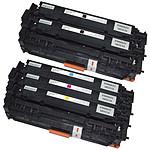 Multipack compatible HP CF38 (noir, cyan, magenta, jaune)