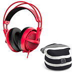 SteelSeries Siberia 200 (Forged Red) + Striped Beanie OFFERT !