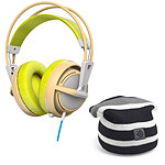 SteelSeries Siberia 200 (Gaia Green) + Striped Beanie OFFERT !