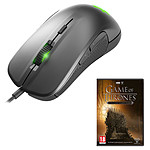 SteelSeries Rival 300 (argent) + Game of Thrones (PC) OFFERT !