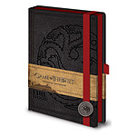 "Cahier Premium A5 Game of Thrones ""Targaryen"""