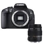 Canon EOS 700D + Sigma 18-250mm