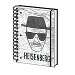 Cahier Premium A5 Heisenberg Portrait Robot