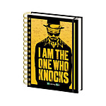 "Cahier A5 Breaking Bad ""I am the One Who Knocks"""