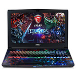 MSI GE62 6QF-085FR Apache Pro 4K Heroes of the Storm