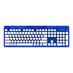 PDP Rock Candy Wireless Keyboard (bleu)