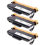 Multipack toners compatibles Brother TN-3380 (noir)