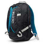 Dicota Backpack Active (noir/bleu)