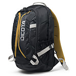 Dicota Backpack Active (noir/jaune)