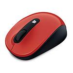 Microsoft Sculpt Mobile Mouse Rouge