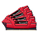G.Skill RipJaws 5 Series Rouge 64 Go (4x16 Go) DDR4 3000 MHz CL14