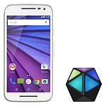 Motorola Moto G 3ème Génération 8 Go Blanc + Moto Stream