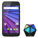 Motorola Moto G 3ème Génération 8 Go Noir + Moto Stream OFFERT !
