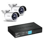 TRENDnet TV-IP320PI2K + TRENDnet TPE-S44