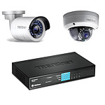 TRENDnet TV-IP320PI + TV-IP321PI + TPE-S44