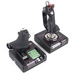 Logitech G Saitek X52 Pro Flight Control System + Elite : Dangerous OFFERT !
