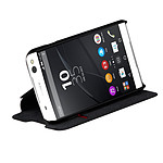 Swiss Charger Etui Folio negro Sony Xperia M5