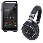 Pioneer XDP-100R Noir + Audio-Technica ATH-MSR7 Noir